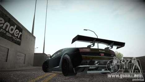 Lamborghini Gallardo LP560-4 GT3 para visión interna GTA San Andreas