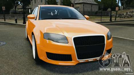 Audi RS4 EmreAKIN Edition para GTA 4