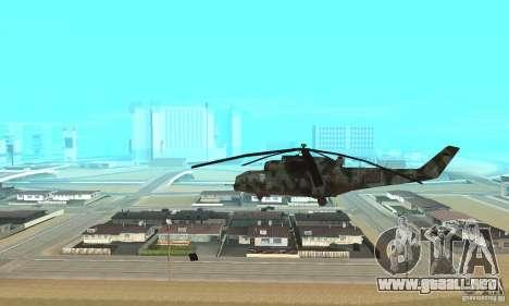 Black Ops Hind para GTA San Andreas left
