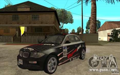 BMW 135i Coupe para GTA San Andreas left