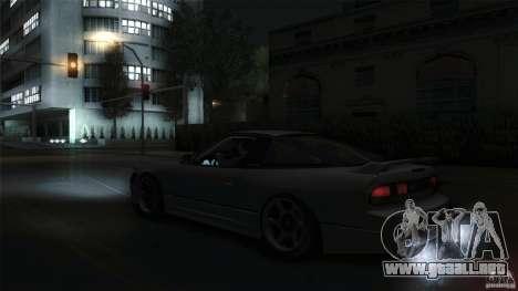 Nissan 240SX S13 Drift Alliance para la visión correcta GTA San Andreas
