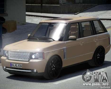 Land Rover SuperSharged para GTA 4