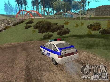 VAZ 21124 DPS para la visión correcta GTA San Andreas