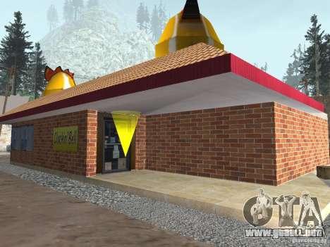 Pueblo de Angel Pine modificado para GTA San Andreas
