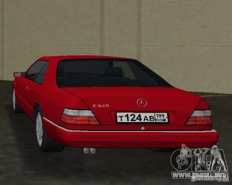 Mercedes-Benz E 320 (C124) para GTA Vice City vista lateral izquierdo