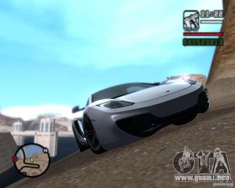 Enb series by LeRxaR para GTA San Andreas segunda pantalla