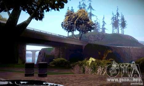 ENBSeries por _SilveR_ v2.0 para GTA San Andreas segunda pantalla