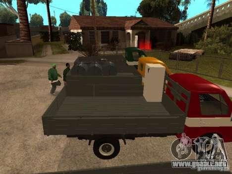 RAPH 33111 para GTA San Andreas vista hacia atrás