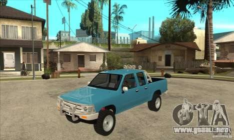 Toyota Hilux CD para GTA San Andreas