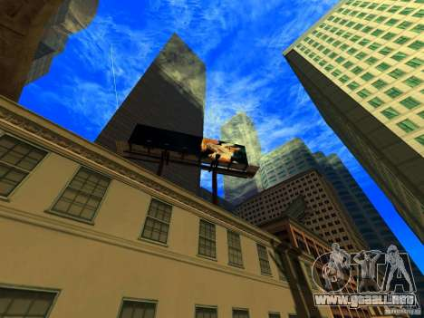 Ángulo de la cámara mejorada V2 para GTA San Andreas segunda pantalla