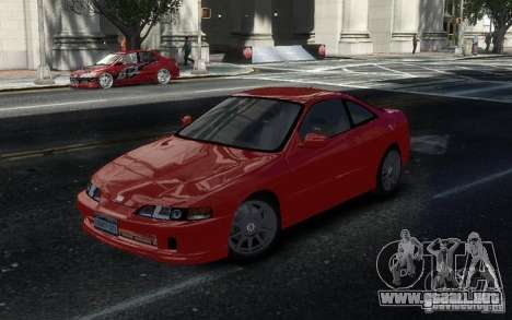 Honda Integra Type R para GTA 4 vista interior