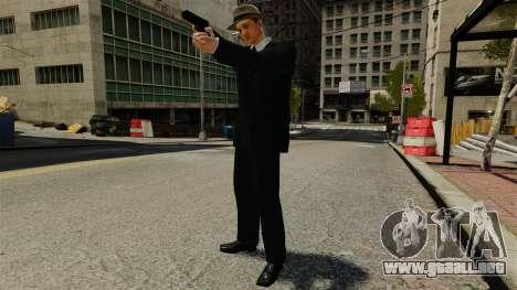 Cole Phelps para GTA 4 quinta pantalla