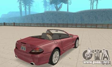 Mercedes-Benz SL500 (R230) para GTA San Andreas left
