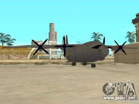 Antonov An-12 para GTA San Andreas left