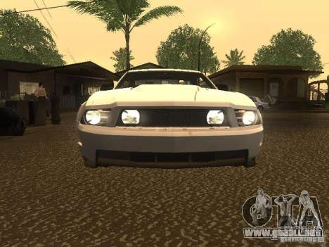 Ford Mustang 2011 GT para la vista superior GTA San Andreas