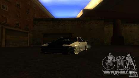 Toyota AE86 Trueno Touge Drift para GTA San Andreas