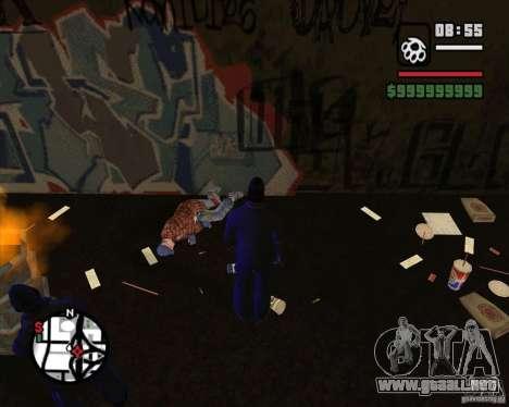 Vagos en el callejón para GTA San Andreas