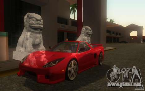 Honda NSX VeilSide Fortune para GTA San Andreas