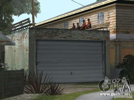 La nueva calle Grove para GTA San Andreas tercera pantalla
