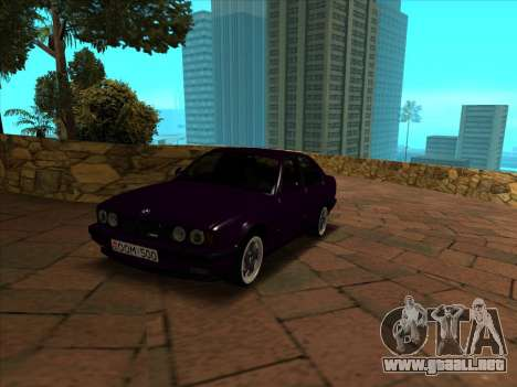 BMW M5 E34 NeedForDrive para GTA San Andreas