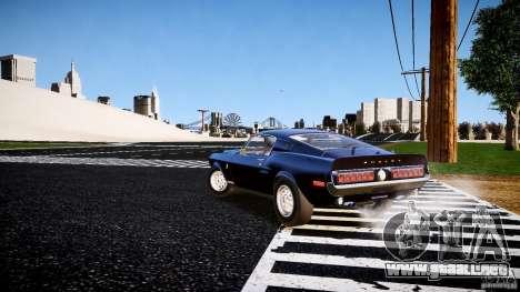 Ford Shelby GT500 KR 1968 para GTA 4 visión correcta