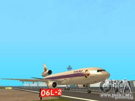 McDonell Douglas  DC 10 Thai Airways para GTA San Andreas left