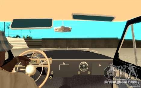 Relampago Negro para GTA San Andreas quinta pantalla