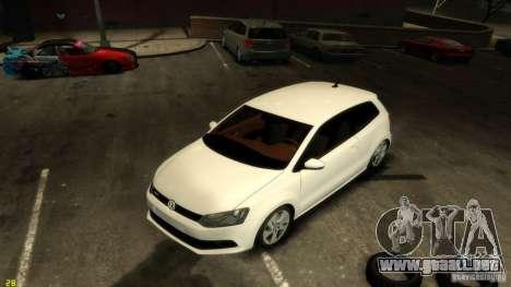 Volkswagen Polo v1.0 para GTA 4 vista hacia atrás