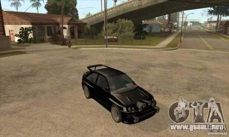 Ford Escort RS Cosworth para las ruedas de GTA San Andreas