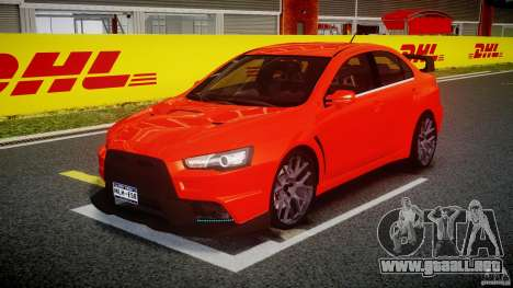 Mitsubishi Lancer Evo X 2011 para GTA 4