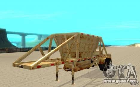 Petrotr trailer 2 para GTA San Andreas left
