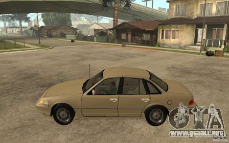 Ford Crown Victoria LX 1992 para GTA San Andreas left