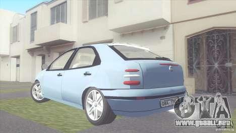 Fiat Brava HGT para GTA San Andreas left