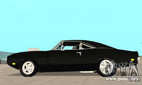 Dodge Charger RT 1970 The Fast & The Furious para GTA San Andreas left