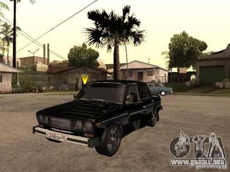 Vaz 21065 para visión interna GTA San Andreas