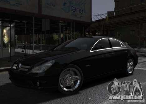 Mercedes-Benz CLS 63 AMG para GTA 4 left