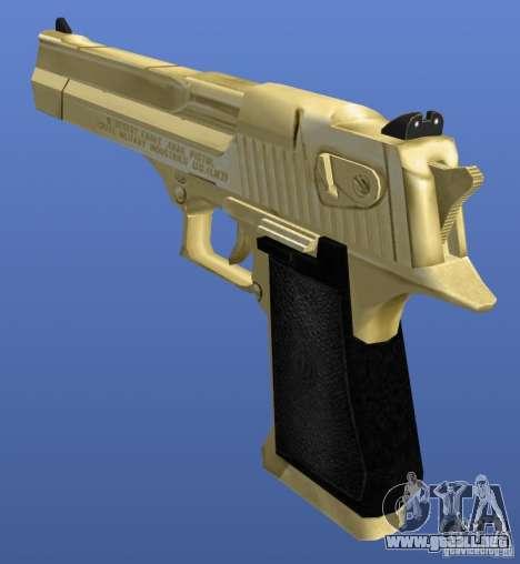 Desert Eagle Retex 1.2 Gold para GTA 4