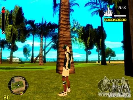 Piel vago v5 para GTA San Andreas segunda pantalla
