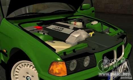 BMW E36 320i para visión interna GTA San Andreas