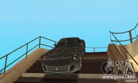 Ferrari 599 GTB Fiorano (belleza negra) para GTA San Andreas