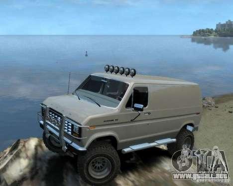 Ford Econoline 150 para GTA 4 visión correcta