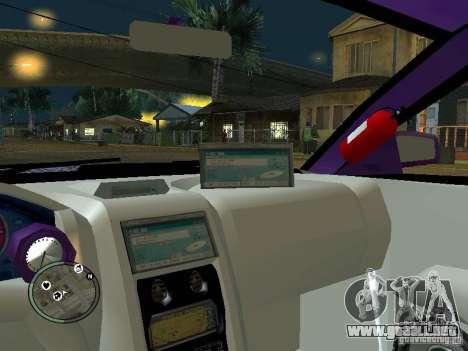 Mitsubishi Spyder 2Fast2Furious Cabriolet para la vista superior GTA San Andreas