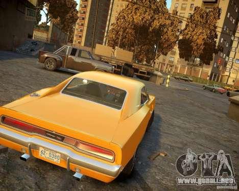 Dodge Charger Magnum 1970 para GTA 4 visión correcta