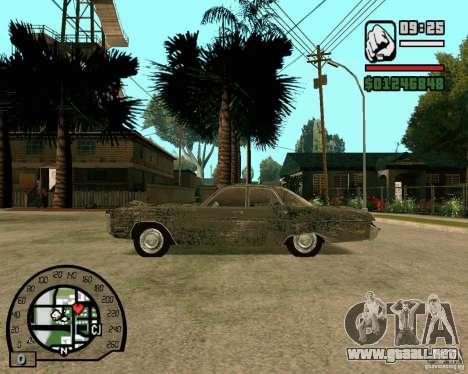 Plymouth Fury III para GTA San Andreas left