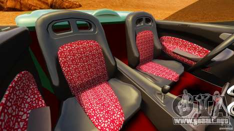 Daewoo Joyster Concept 1997 para GTA 4 vista interior
