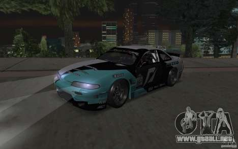 Nissan S14 Matt Powers 2012 para GTA San Andreas left