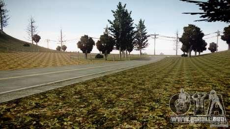 GhostPeakMountain para GTA 4 adelante de pantalla