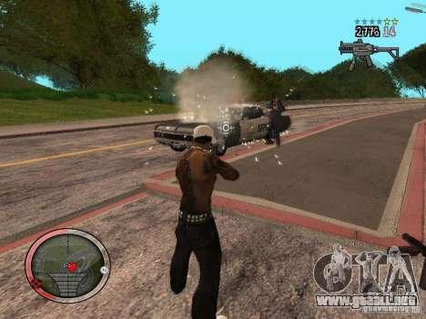 GTA IV HUD Final para GTA San Andreas sexta pantalla