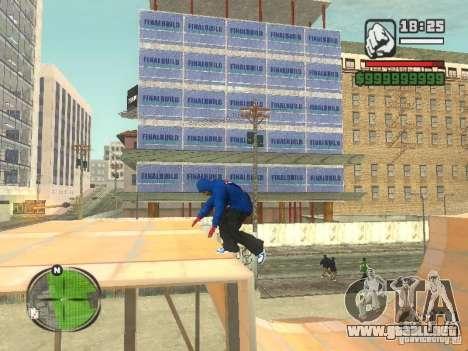 RunMan para GTA San Andreas tercera pantalla