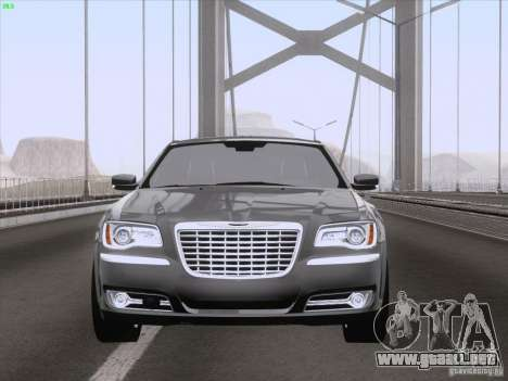 Chrysler 300 Limited 2013 para vista lateral GTA San Andreas